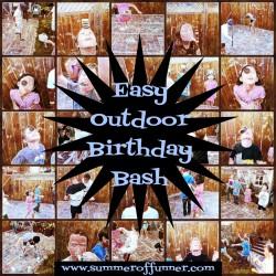 Easy Outdoor Birthday Bash