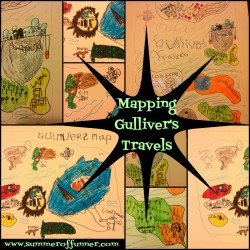 Mapping Gulliver's Travels