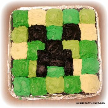 Minecraft Cupcake Cake birthday cake recipe wilton 9 on birthday cake recipe wilton