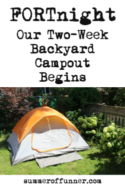 Backyard Campout feature