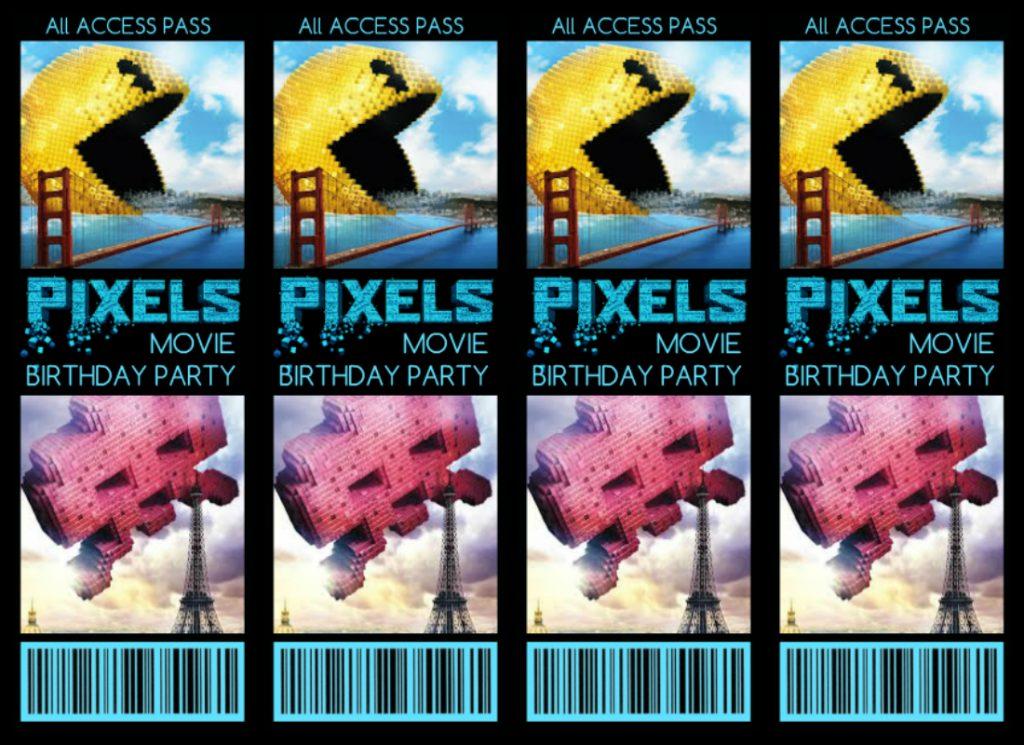 movie themed birthday invitations