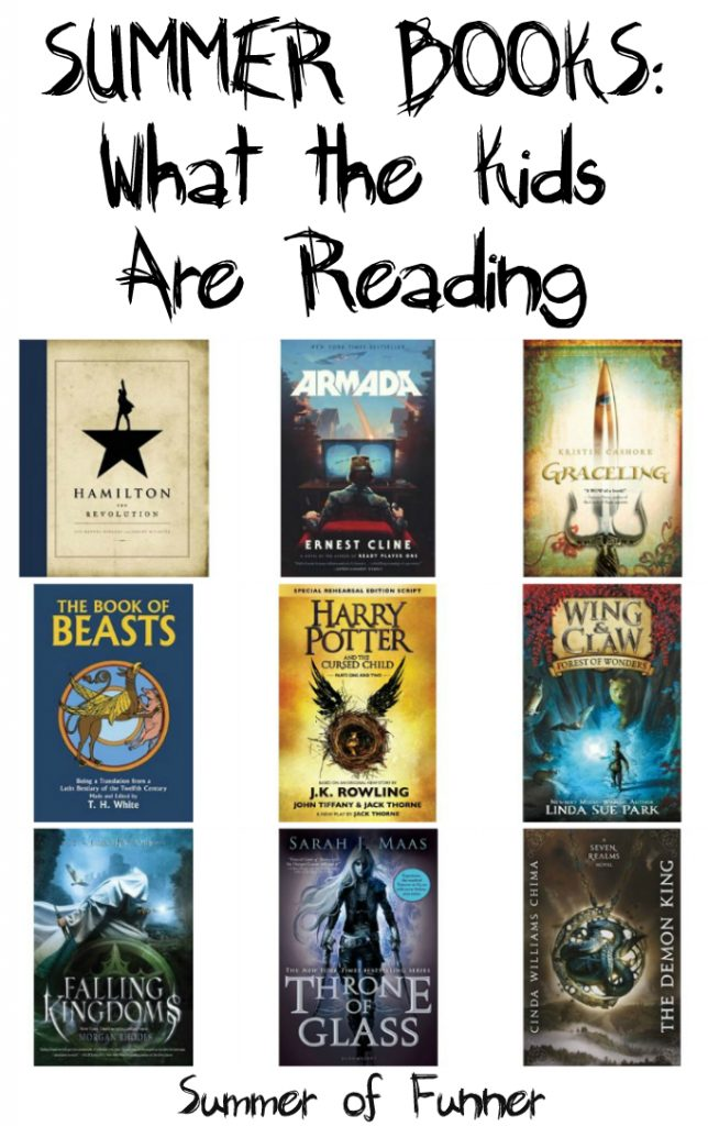 summer books what the kids are reading summer of 2016