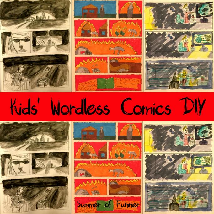 Kids' Wordless Comics DIY from Summer of Funner Online Magazine