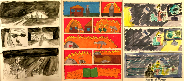 Wordless Comics Finished Products Summer of Funner
