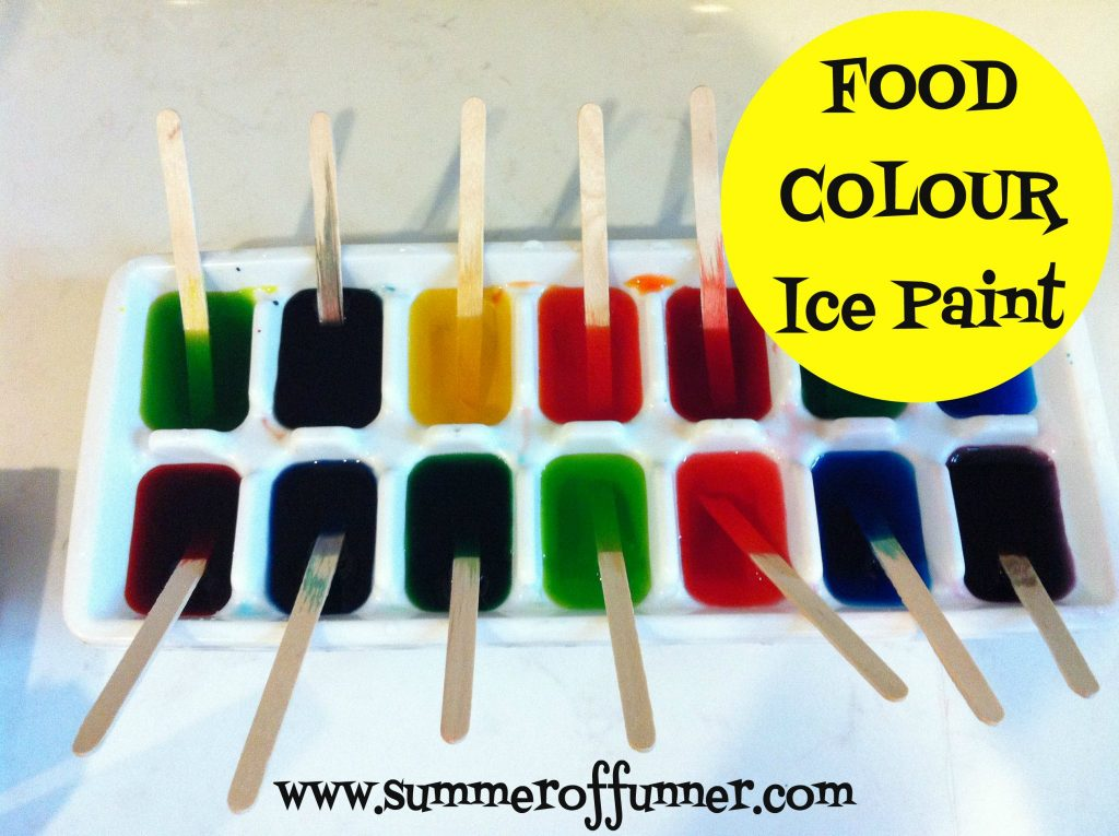 Food Colour Ice Paint