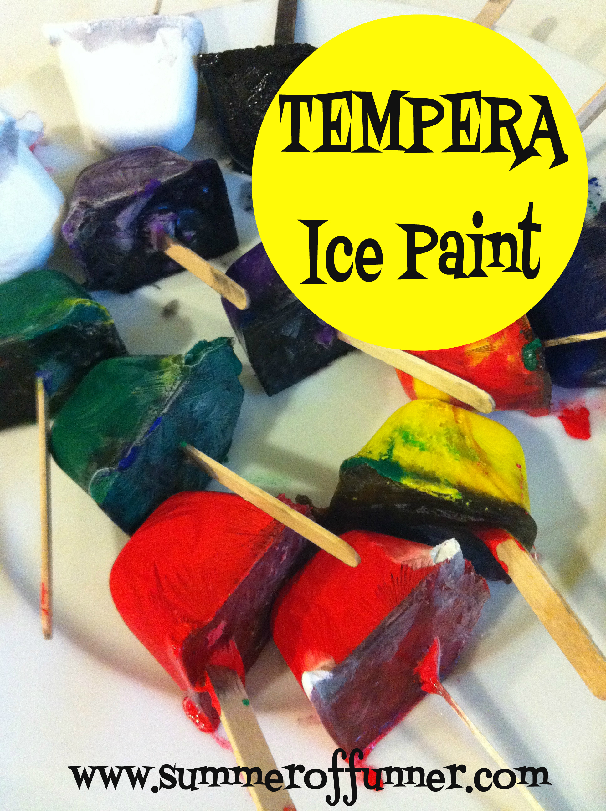 Tempera Ice Paint