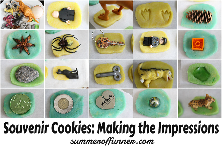Souvenir Cookies..Making the Impressions