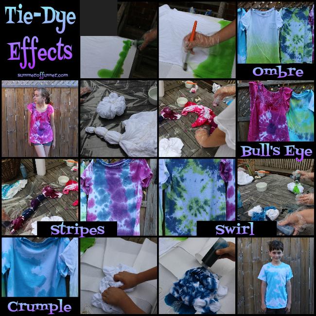 Tie-Dye Effects a Visual DIY