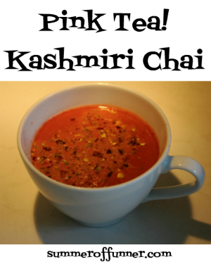 Pink Tea! Kashmiri Chai Tea Recipe with popsicle version and so much more!