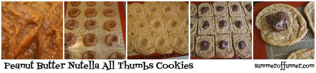 pb nutella all thumbs cookies