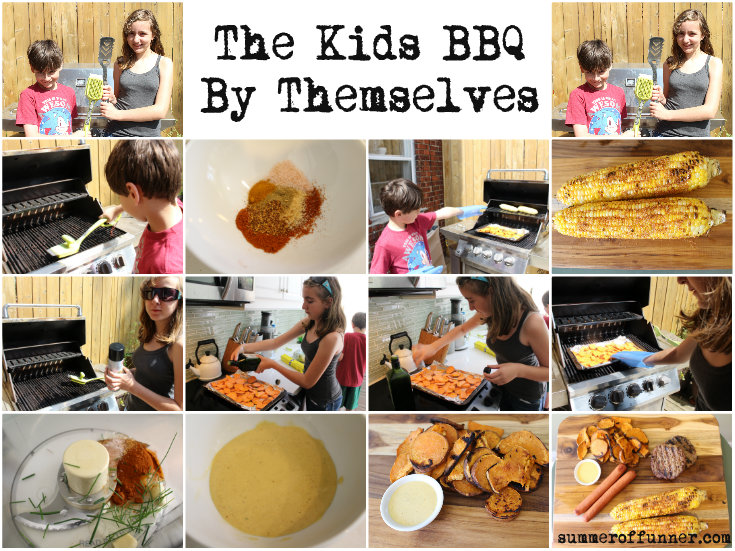 The Kids BBQ By Themselves