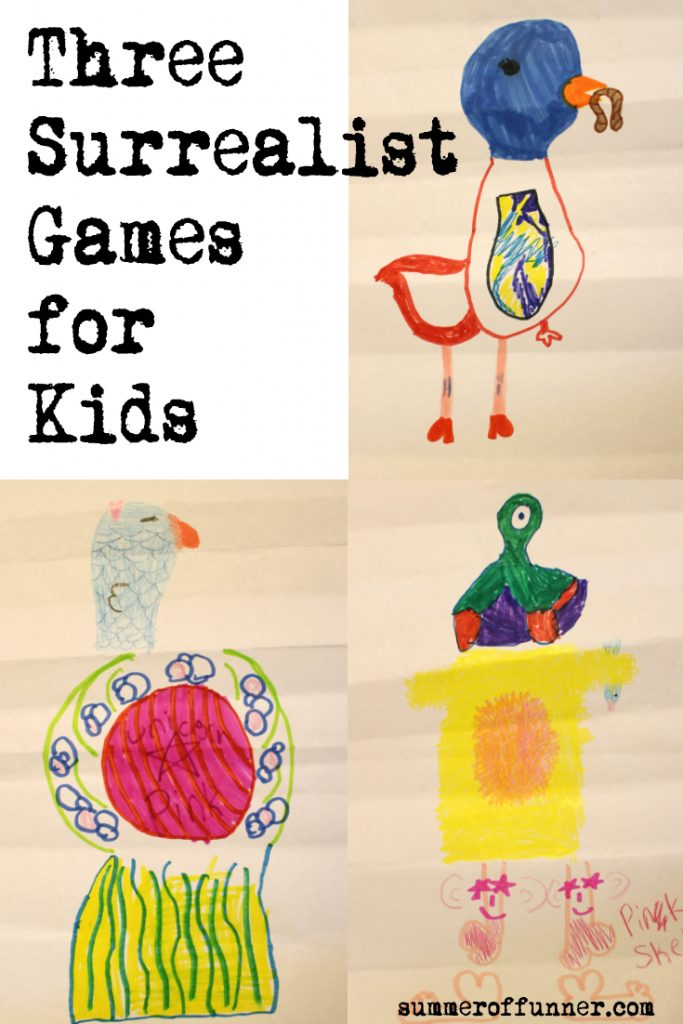 Three Surrealist Games for Kids