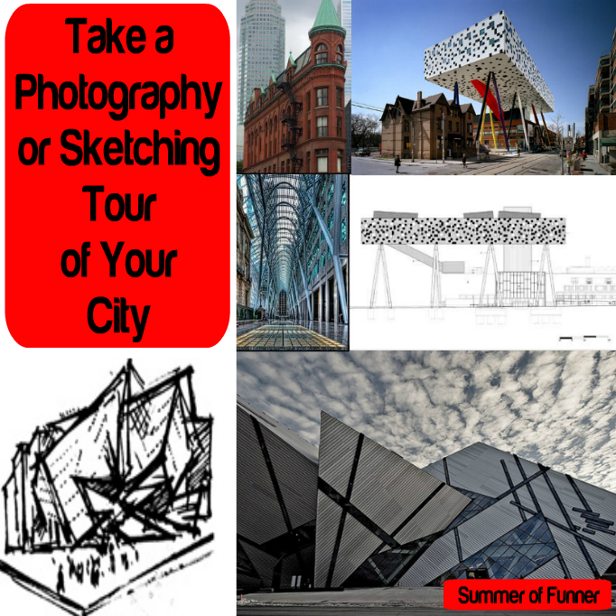 Take a Photography or Sketching Tour of Your City
