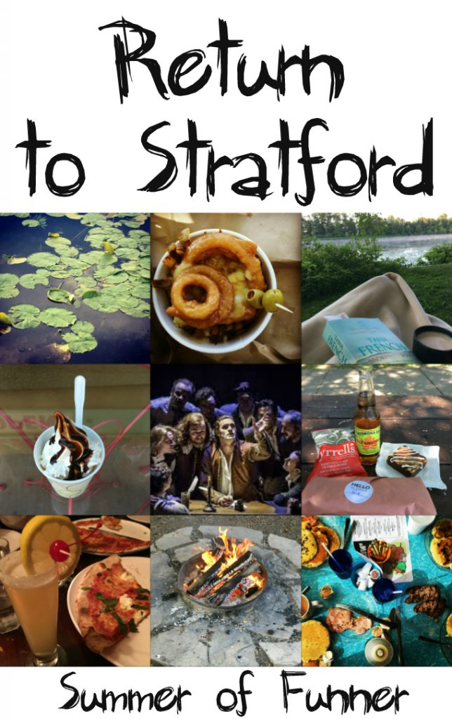 Return to Stratford - our Stratford Festival Routine