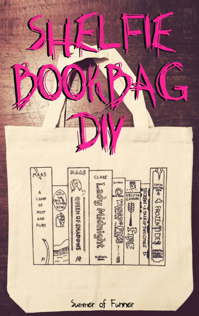 Shelfie Bookbag DIY from Summer of FUnner