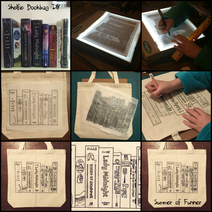 Shelfie Bookbag Visual DIY