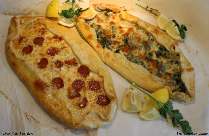 Turkish Pide Two Ways The Lunchbox Season