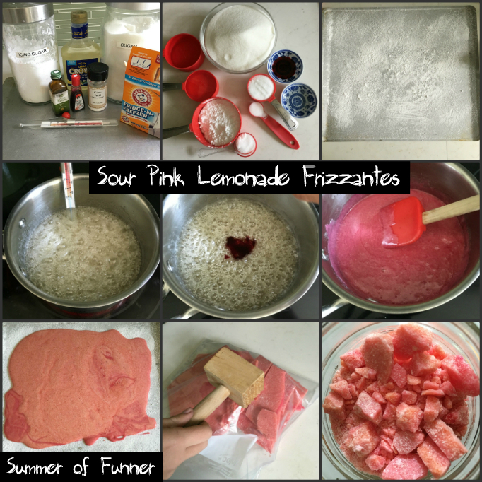 Why DIY Poprocks when you can make sour pink lemonade frizzantes